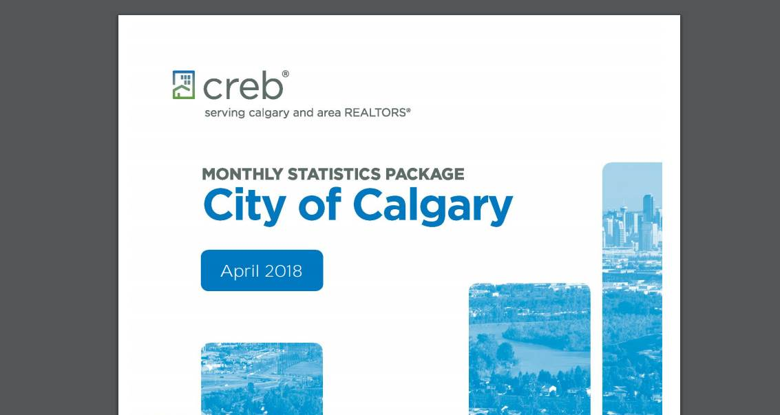 CREB® Monthly Statistics Package – The city of Calgary